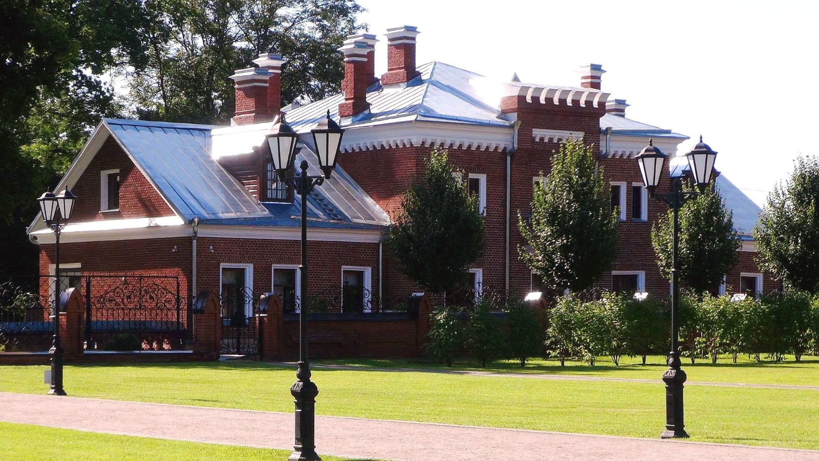 Бомарзунд возле Свитского корпуса.