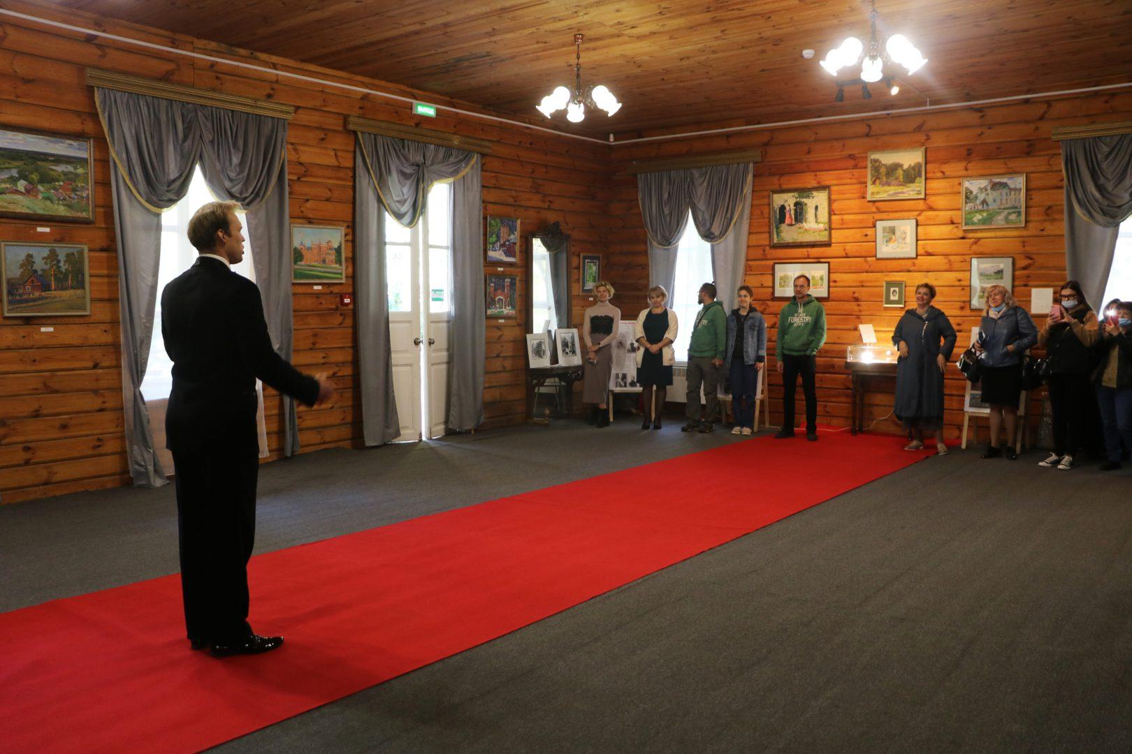 """Выставка """"Рамонь. Ольденбургские"""" в Музее-усадьбе П.П. Семёнова-Тян-Шанского."""