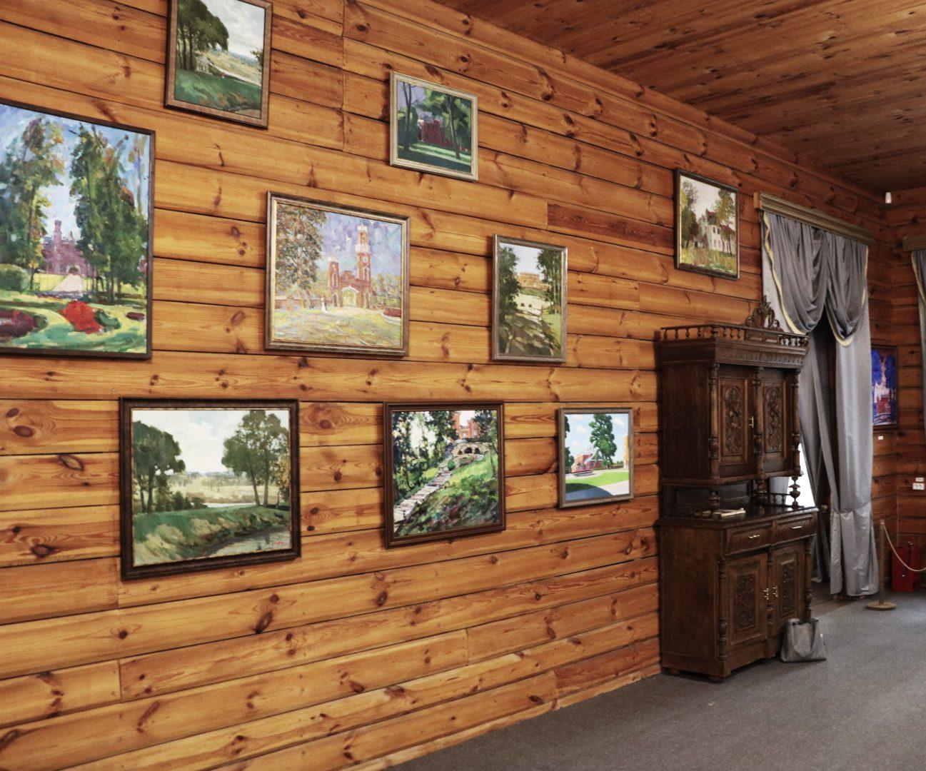 Открытие выставки «Рамонь. Ольденбургские» в Музее-усадьбе П.П. Семенова-Тян-Шанского Липецкой области